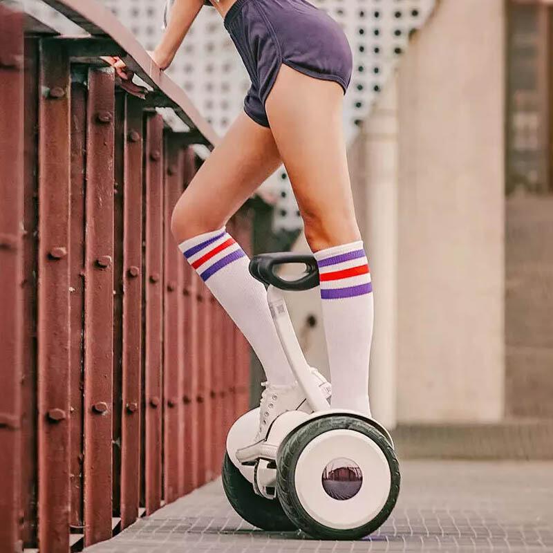 小米(MI) 平衡车9号Ninebot 电动体感车plus成人两轮智能骑行遥控代步车九号卡丁车套件 九号平衡车白色-官方标配